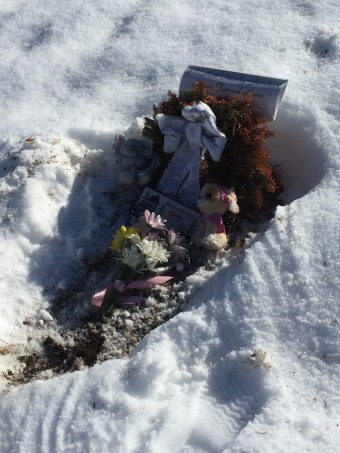 new grave